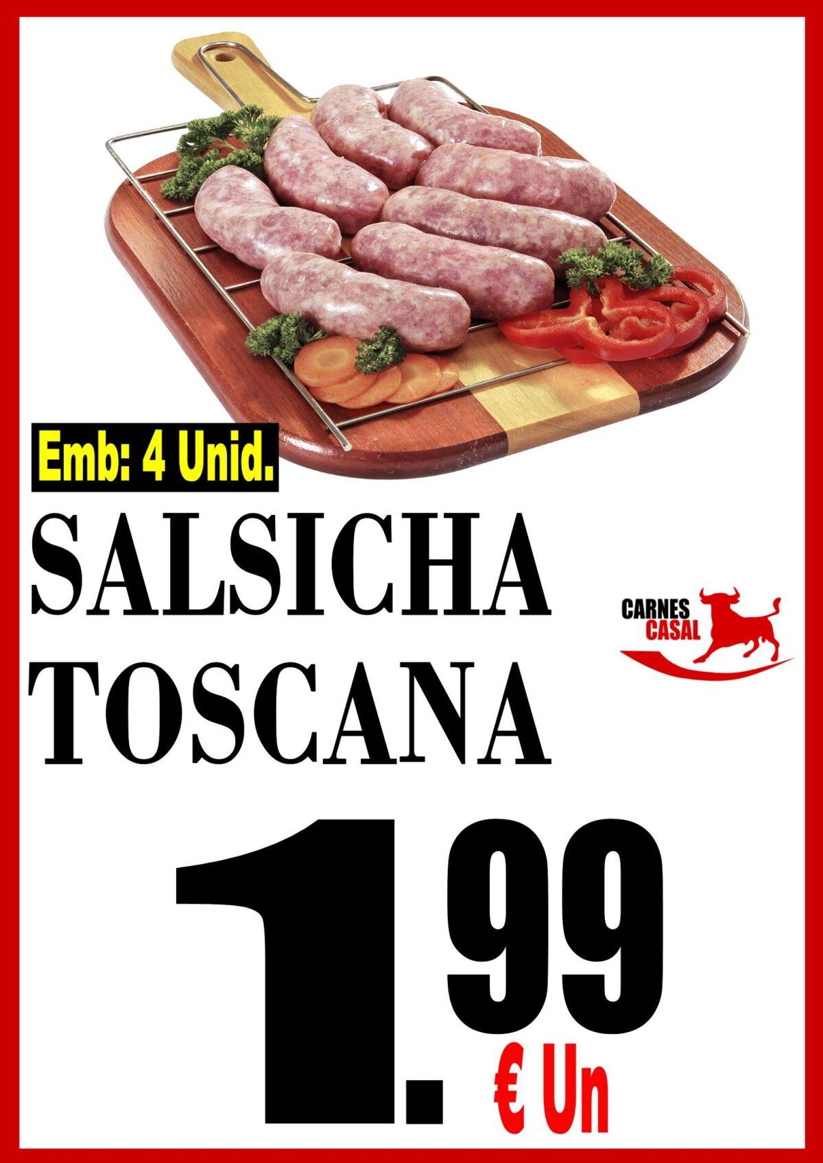 Salsicha Toscana