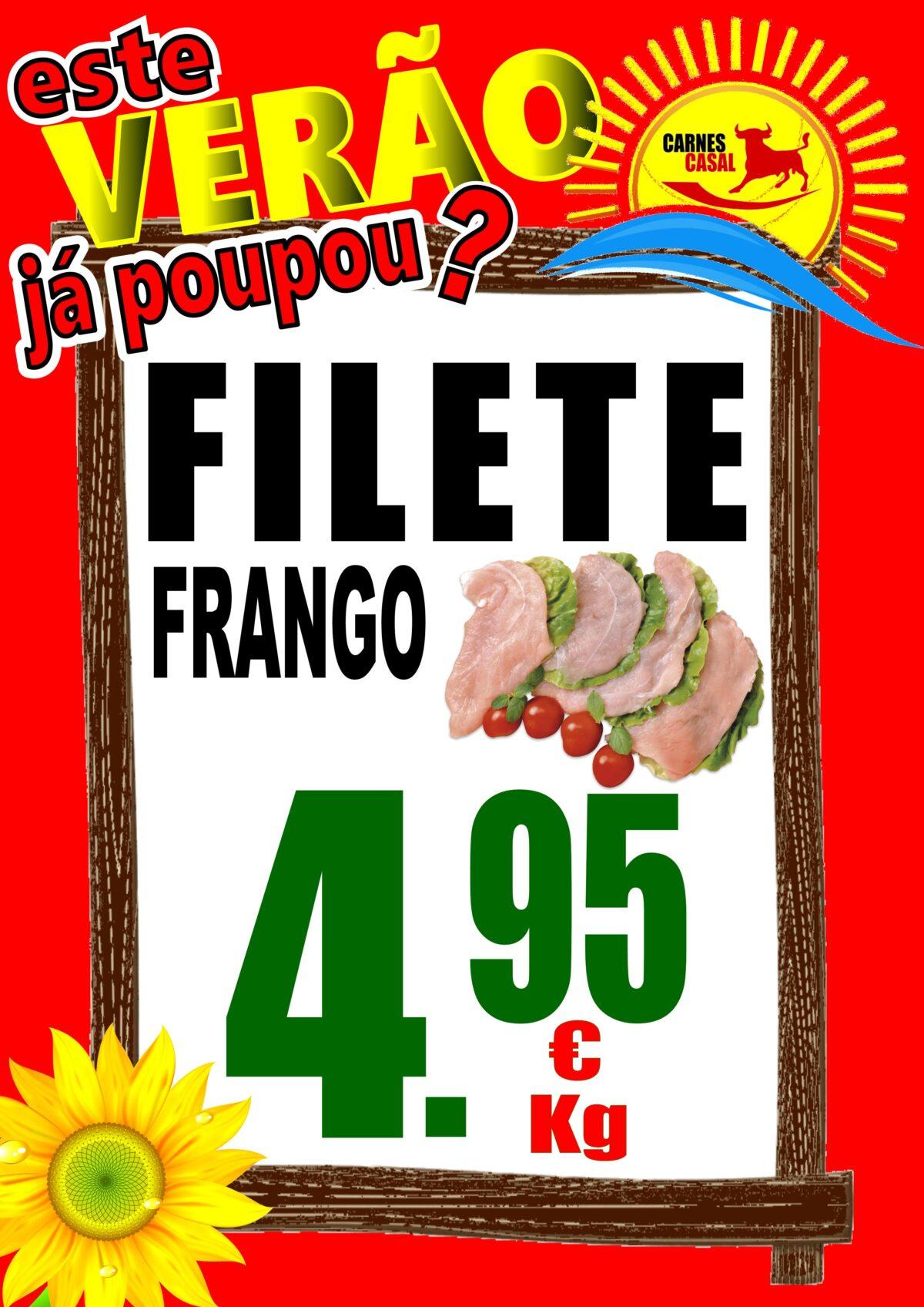 Filete frango
